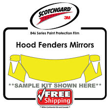 Kits for Subaru - 3M 846 Scotchgard Paint Protection Film - Hood Fender Tips Mir