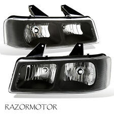 2003-2017 Replacement Headlight Pair For Chevy Express / Gmc Savana w/ Bulb (Fits: Gmc)