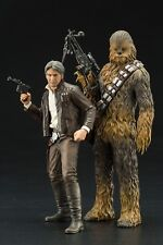 Star Wars: The Force Awakens - Han Solo & Chewbacca ARTFX+ Model Kit Set (Koto)