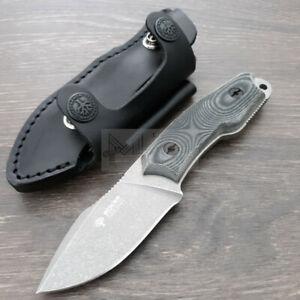 """Boker Arbolito El Heroe Full Tang Knife 3"""" N695 Stainless Blade Micarta Handle"""