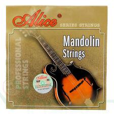 Muta di Corde per Mandolino Alice AM03 placcate acciaio lega rame resistenti