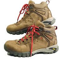Men's Vasque Talus Trek 7418 UltraDry,  Brown/Chili Pepper SIZE 8.5 Hiking Boots