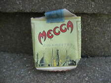 Vintage 1943 Mecca Cigarettes Tobacco Package.....Empty