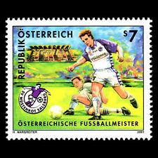 Austria 2001 - Austrian Football Champions Soccer Sports - Sc 1839 MNH