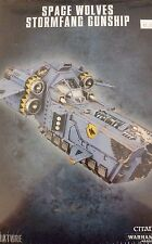Warhammer 40K SPACE WOLVES STORMFANG GUNSHIP / Stormwolf Assault Craft Transport
