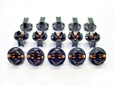 "15 Instrument Panel 1/2"" Twist In Sockets Cluster Light Bulb Dashboard 194 GM"