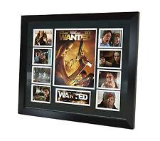 Wanted - Angelina Jolie - James McAvoy - Signed Photo - Movie Memorabilia