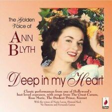 ANN BLYTH - DEEP IN MY HEART  CD NEUF