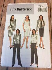 B3978 New Uncut Misses Jacket Dress Skirt Pants