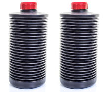 2 x kood Ap Collapsible 1 Litre Bottle Film Developing Chemical Processing