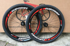 """Brand New Cyber 26"""" Bicycle Wheels MTB Wheelsets Black for SHIMANO SRAM 8S/9S/10"""