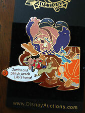 Disney Auctions Story of Lilo & Stitch #9 Jumba Wreck Lilo's Home Pin LE 100