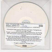 (GI51) The Big Pink, Tonight - 2010 DJ CD