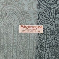 PASHMINA 100% Pure Cashmere 180x70cm, Blue/Grey, Shawl Stole Wrap Scarf