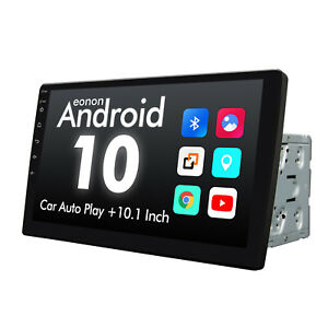 """Double 2DIN Rotatable 10.1"""" Android 10 Touch Screen Car Stereo Radio GPS WiFi BT"""