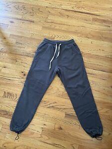 John Elliott Men's Sochi Sweatpant Dark Grey Size 2 (Medium)