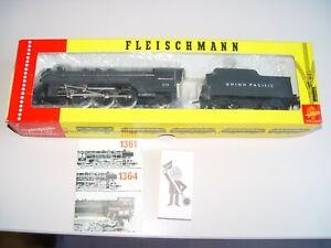 "Fleischmann 1366, US-Schlepptenderlok ""Pacific"", Union Pacific , Neu, OVP"