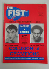 The Fist Boxing Magazine *Vol. 1 No. 4 - October 1989