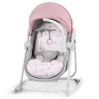 Kinderkraft Baby Bouncer 5in1 UNIMO 2020 Infant Rocker Swinger Chair Crib Pink