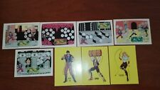Vintage 1989 Topps Nintendo Game Packs Trading- 8 CROMOS - Double Dragon- LOTE 6