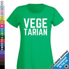 Ladies Vegetarian Tshirt - Garden Peas - Vegan Diet - Lifestyle Activist Shirt