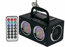 Sykik SP2012BT Mini Bluetooth Wireless Speaker Boom Box Rechargeable Light Show