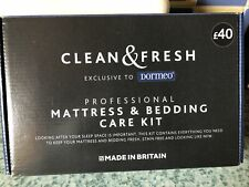Clean & Fresh Dormeo Professional Mattress & Bedding Care Kit. New  Free Uk P&P
