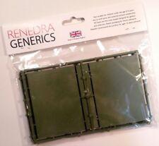 Renedra Plastics 90mm x 65mm Artillery Bases - ACW Black Powder 28mm War Games