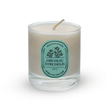 Aromatic Safe Scent Jar Container Candle Natural Soy Wax Apple Strudel Fragrance