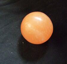 kleine orangene Selenit Kugel Gips geschliffen Dekoration Deko dekorativ schön
