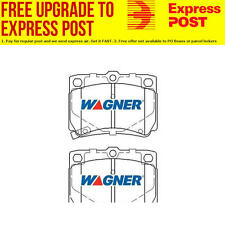 Wagner Brake Pad Set Front DB1390WB fits Mitsubishi Challenger 2.5 DI-D 4x4,V