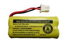Battery BT183342 / BT283342 for Vtech AT&T Cordless Telephones CL80111 EL52300