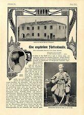 Una sin corona fürstenfamilie rebosen doda miriditen kalmetit Albania 1902