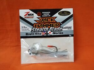 ZMAN EVERGREEN JACK HAMMER CHATTERBAIT STEALTH CLEARWATER SHAD #03 3/8OZ