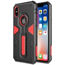 Apple iPhone X 10 NILLKIN Outdoor Case Defender II Series Hybrid Hülle Cover Rot