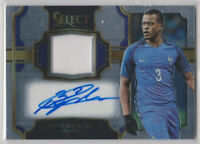 2017-18 Select Soccer Patrice Evra Autograph Relic Card # 021/299 - FRANCE