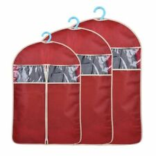 Clothes Dust Cover Zipper Suit Jacket T-shirt Breathable Garment Storage Bag New