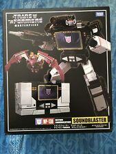 Transformers Masterpiece MP-13B Sound Blaster TAKARA TOMY US Seller