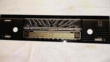 Röhrenradio Philips 1002 /  Skalenglas Skalenscheibe Front
