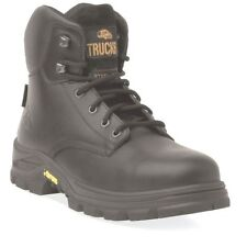 Aimont Pioneer Black Leather Safety Boot UK 7 EU 41 7TR29