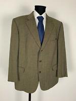 Eduard Dressler Cerruti Tweed Winter Sakko Jacket Gr.29 Schurwolle Top Zustand