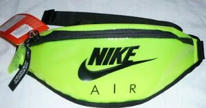 Nike Air Unisex Womans/Mens  Heritage Clear Lime Green  Bumbag Hip Pack Pouch