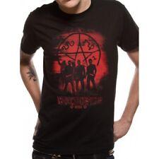 Supernatural Symbol and Group Black Unisex T-shirt Mens Womens Winchester L PE13868TSBLL