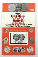 Vintage 1967 Coin Guide Book Canadian US Coins 7th Edition Charlton Q212