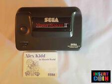 CONSOLA SEGA MASTER SYSTEM II + ALEX KIDD  (PAL / PAL G  )  #23967  LEER/READ!