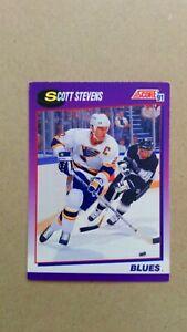 1991-92 Score American #40 Scott Stevens St. Louis Blues