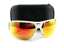 New Dragon Alliance Sunglasses Enduro X White Black Red Ion Authentic
