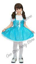 Children Dorothy Costume Blue dress checkered wizard of oz kids Book week