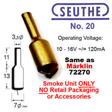 Seuthe 20E #20 Smoke Generator Unit AKA Märklin 72270 or Roco 40160 3.5mm 10-16V
