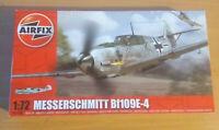 Airfix Messerschmitt Bf109E-4 1:72 Aircraft Model 1/72 Unopened